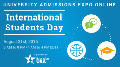 International Students Day Banner