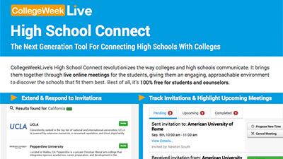 High School Connect Flyer Image